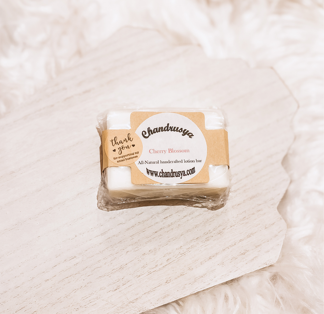 Chandrusya Lotion Bar - Cherry Blossom