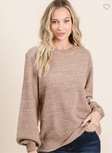 Load image into Gallery viewer, Keep Me Cozy Sweater - Camel