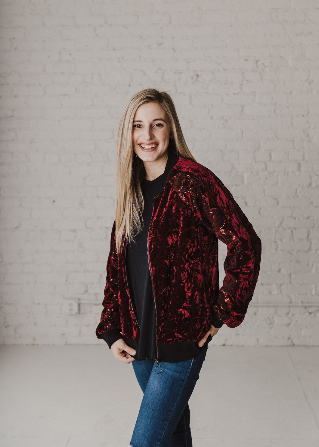 Young Love Sequin Jacket