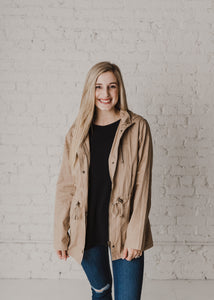 Adore You Jacket - Khaki