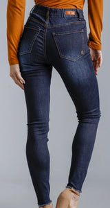 Distressed Stretchy Skinny Jeans