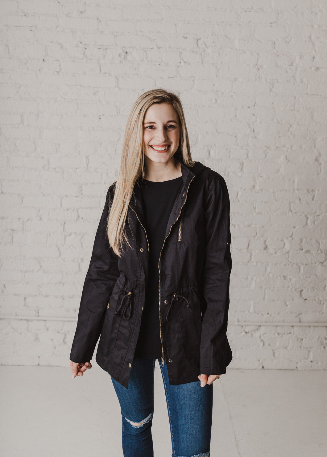 Adore You Jacket - Black