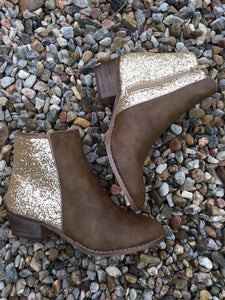 Carly Glitter Booties