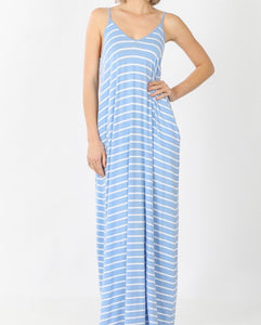 Everything I Wanted Maxi - Spring Blue