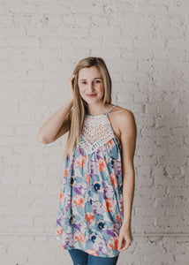 Mindy Floral Tunic