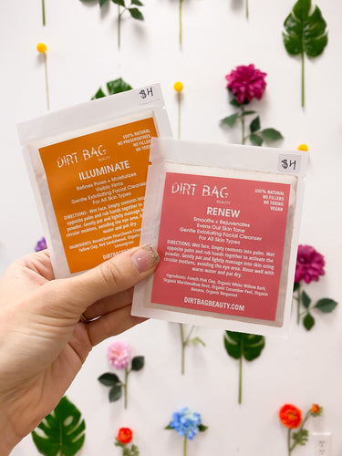 Dirt Bag Beauty Face Masks