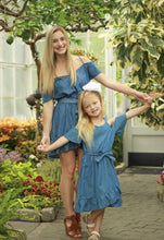 Load image into Gallery viewer, Camden Girls Chambray Dress