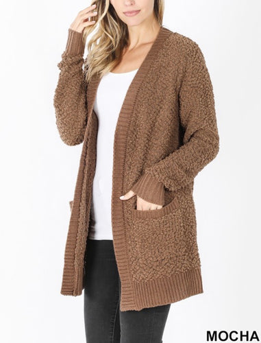 All Day Everyday Cardigan - Mocha