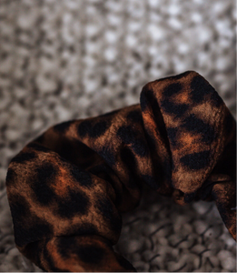 RaesPlace.co Cheetah Scrunchie