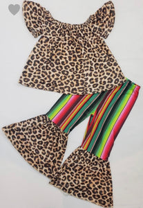 Serape Cheetah Set