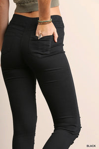Black Everyday Ripped Jegging