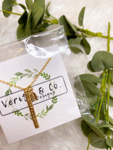 Breathe Necklace - Verity & Co