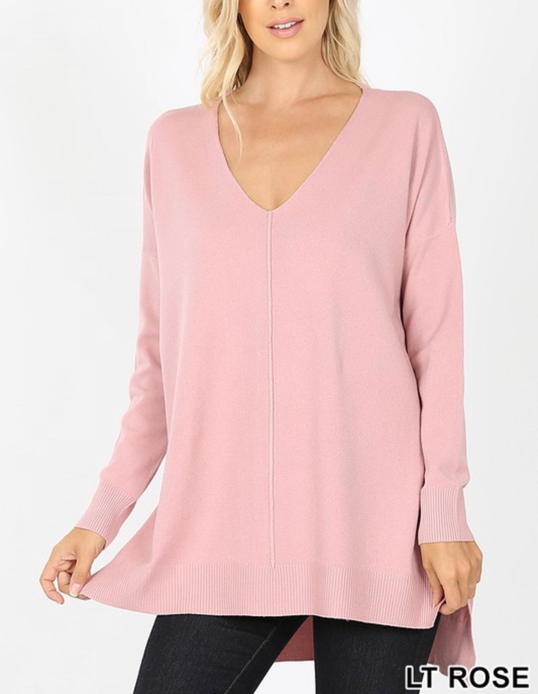 Sweet Dreams Tunic - Rose