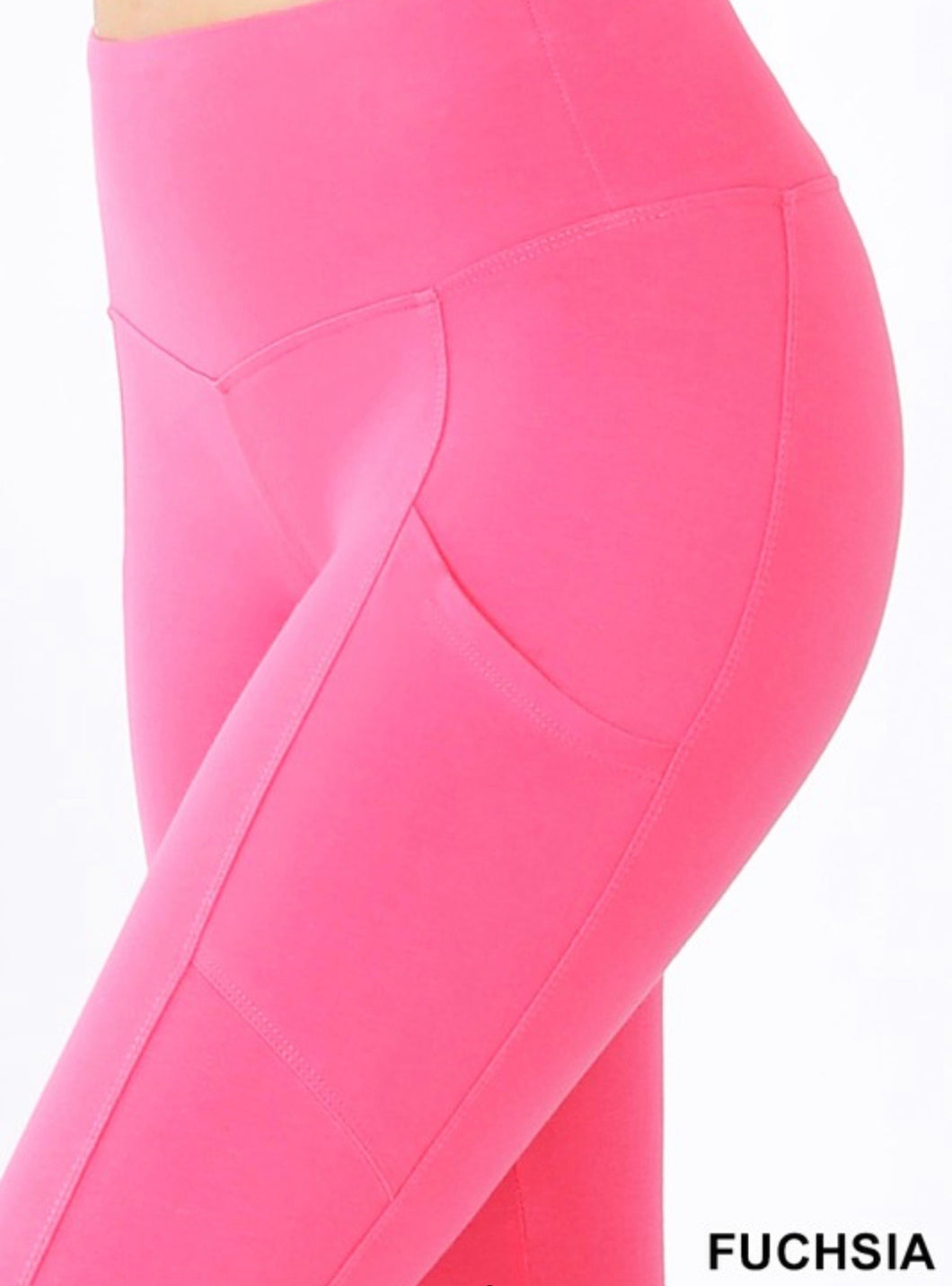 Athletic Leggings - Fuchsia