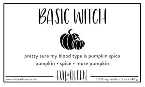 Basic Witch Candle - Evil Queen