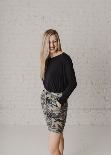 All American Girl Camo Skirt