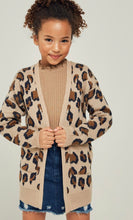 Load image into Gallery viewer, Girls Candice Leopard Cardigan
