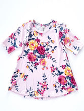 Load image into Gallery viewer, Charlotte Infant Floral Dress
