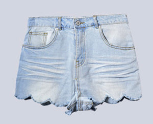 Stephanie Scallop Shorts