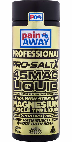 PAIN AWAY PROFESSIONAL PRO-SALT X 45MAG LIQUID 375ML