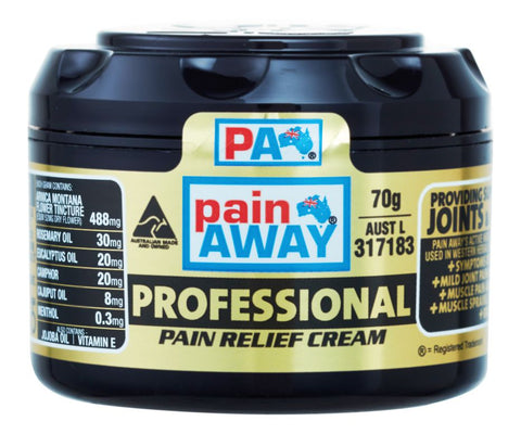 PAIN AWAY PROFESSIONAL <br> PAIN RELIEF CREAM 70G