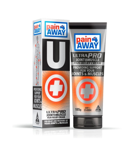 1 x PAIN AWAY ULTRA PRO - JOINT & MUSCLE<BR> PAIN RELIEF CREAM 185G TUBE