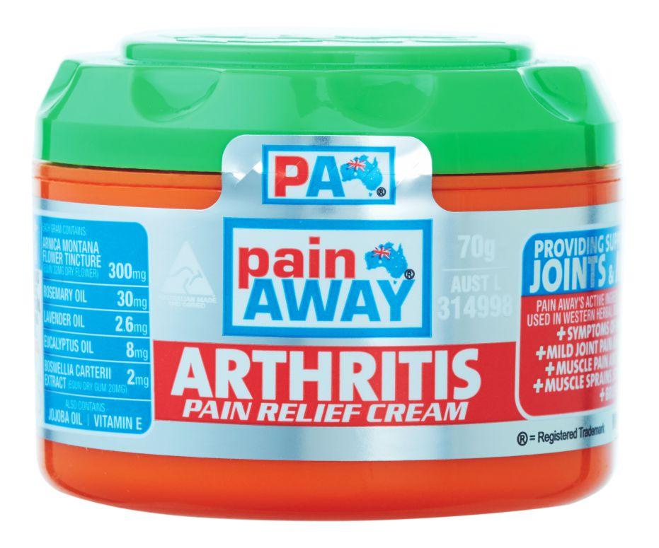 PAIN AWAY ARTHRITIS <BR> PAIN RELIEF CREAM 70G