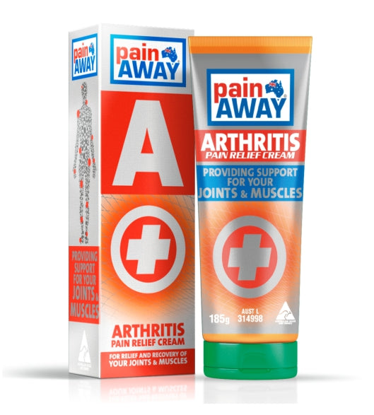 PAIN AWAY ARTHRITIS <BR> PAIN RELIEF CREAM 185G TUBE