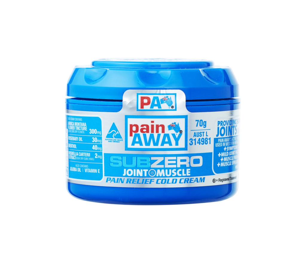 1 x PAIN AWAY SUB ZERO - JOINT & MUSCLE PAIN RELIEF COLD <br> CREAM 70G