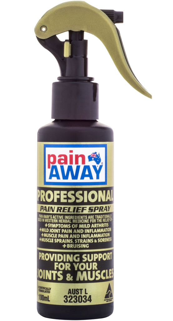 PAIN AWAY PROFESSIONAL <BR> PAIN RELIEF SPRAY 100ML