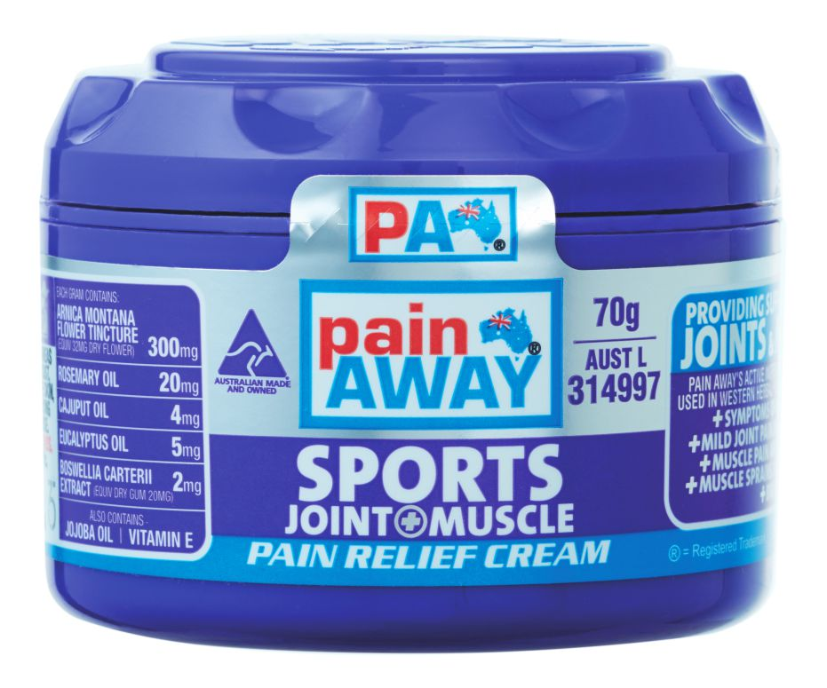 PAIN AWAY SPORTS - JOINT & MUSCLE PAIN RELIEF CREAM 70G