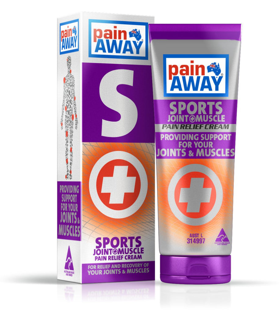 PAIN AWAY SPORTS - JOINT & MUSCLE <br> PAIN RELIEF CREAM 185G TUBE