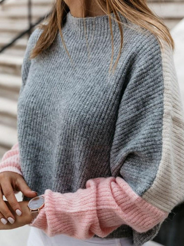 Pull Femme Col Montant Standard