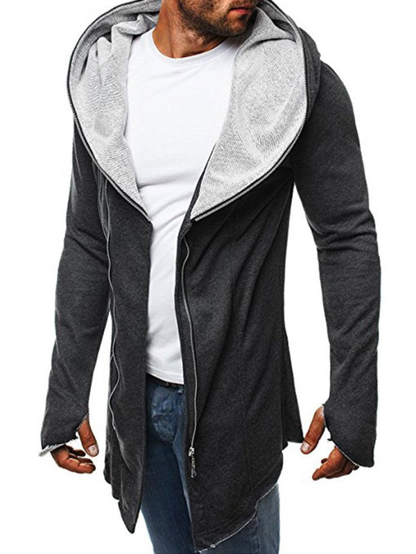 Sweat-shirt Homme Cardigan Pure Slim Automne