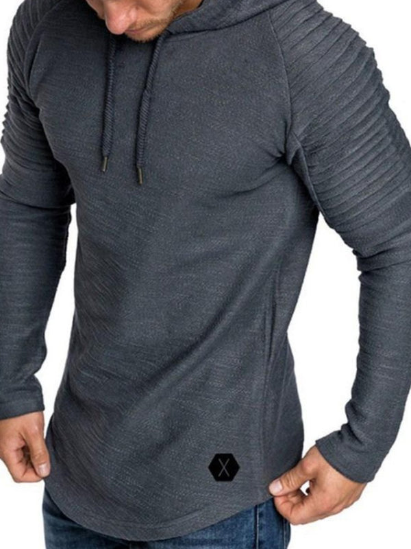 Sweat-shirt Pull Homme Pli Pure à Capuchon