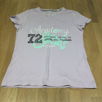 'Academy Team' Lilac T-Shirt - Girls 8-10 Years