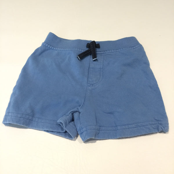 Blue Jersey Shorts - Boys 6-9m