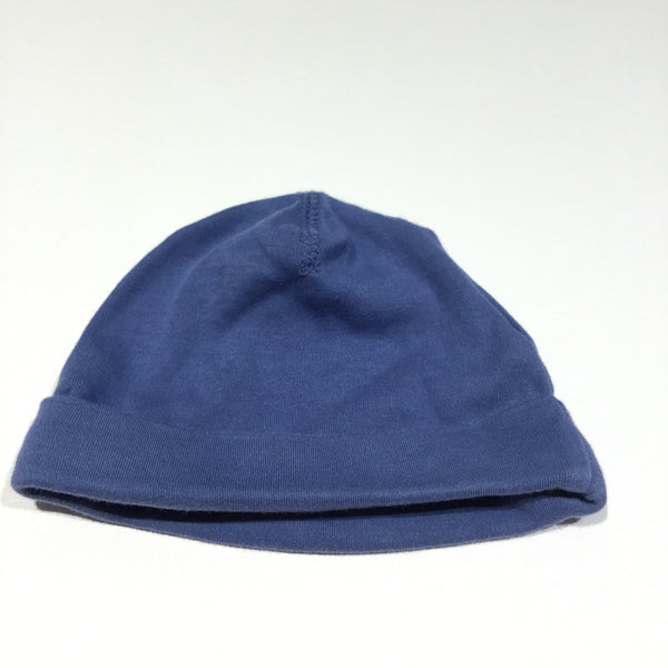 Blue Jersey Hat - Boys 1-2m