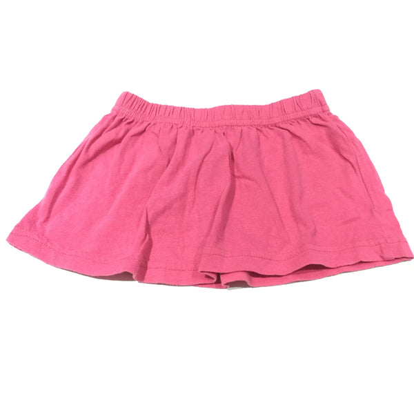 Pink Jersey Skirt - Girls 9-12m
