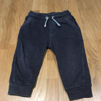 Slate Blue Tracksuit Bottoms - Boys 9-12m