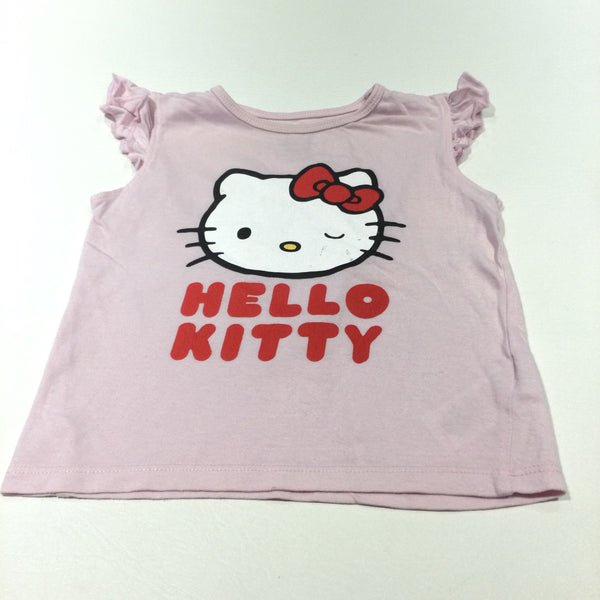 'Hello Kitty' Pink T-Shirt - Girls 12-18 Months