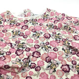 Minnie Mouse Pink Roses Cream Long Sleeve Top - Girls 3-6m