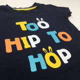 'Too Hip To Hop' Navy T-Shirt - Boys 12-18m