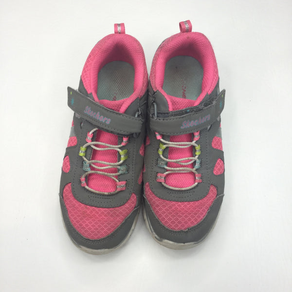 Pink & Mushroom Trainers - Size 13
