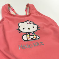 'Hello Kitt' Hello Kitty Pink Swimming Costume - Girls 18-24m