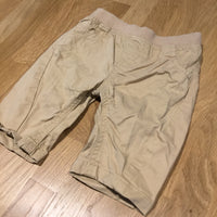 Beige Lightweight Cotton Trousers - Boys 0-3m