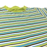 Green, Navy & Blue Striped T-Shirt - Boys 12-18 Months