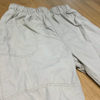 Beige Lined Cotton Trousers - Boys 6-9m