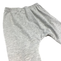 Grey & Blue Pyjama Bottoms - Girls 4-5