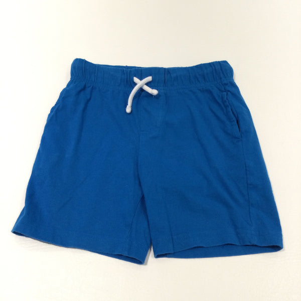 Blue Jersey Shorts - Boys 3-4 Years